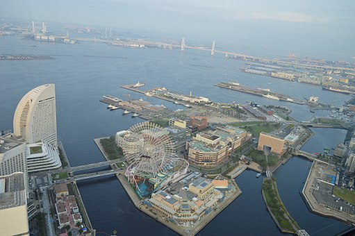 Yokohama Cosmo World from Above 2