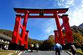 Yudonosan Torii gate 2006-A.jpg