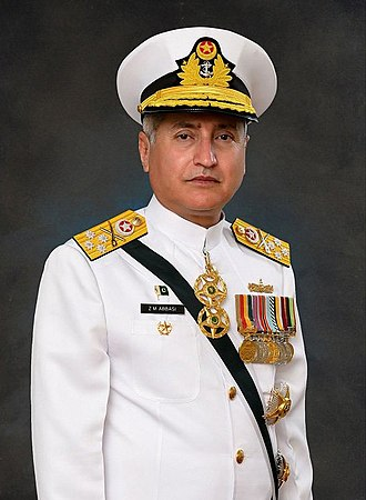 Chief of Naval Staff (Pakistan) - Image: Zafar Mahmood Abbasi
