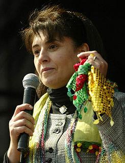 Leyla Zana Turkish activist and politician