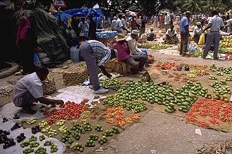 Zanzibari cuisine - Vegetables and food market, Stone Town