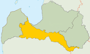 Semigallia - Image: Zemgale Loc Map