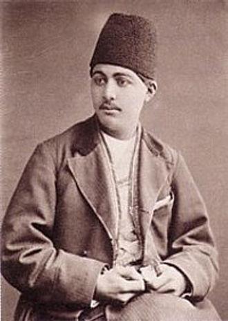 Amanollah Khan Zia' os-Soltan - Amanollah Khan, ca. 1878.