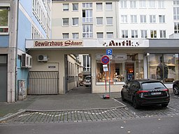Ziegelgasse in Frankfurt am Main