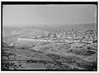 Zionist activities in Palestine. Jerusalem from the Hebrew University. Telephoto view. LOC matpc.02661.jpg