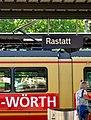 Zugverbindung - Rastatt - Wörth - panoramio.jpg