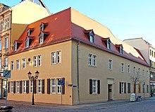 Birthplace of Robert Schumann in Zwickau in 2005 (Source: Wikimedia)