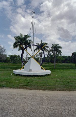 1980 Surinamese coup d'état - Monument commemorating the coup.