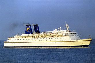 "Festival Cruises - Image: ""The Azur"" Genoa, 2001"