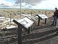 """""""The Santa Fe Trail"""" wayside and historical marker outside La Junta, CO (14091e37bd6540c8b1a37576d2b5e202).JPG"""
