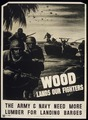 """WOOD LANDS OUR FIGHTERS"" - NARA - 516182.tif"