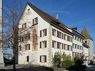 Ritterhaus Bubikon - so-called Bubikerhaus of the convent in Rapperswil, adjacent to the Brenyhaus nearby the Rapperswil Castle