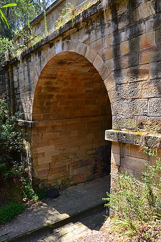Historic bridges of New South Wales - Image: (1)Lennox Bridge 1