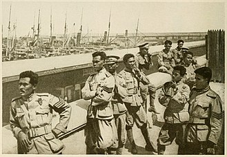 Siamese Expeditionary Forces - Image: (1919) pic 36 Siamese troops in Marseilles