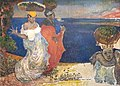 (Albi) Femmes au bord de la mer dit La Martinique (1887) - Charles Laval - Musée D'Orsay.jpg