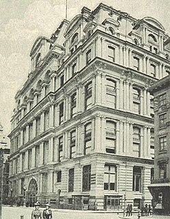 Equitable Life Building (Manhattan) Former skyscraper in Manhattan, New York
