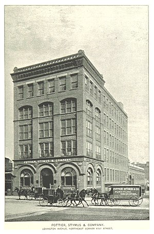Pottier & Stymus - Image: (King 1893NYC) pg 861 POTTIER, STYMUS & COMPANY. LEXINGTON AVENUE, NORTHEAST CORNER 41ST STREET