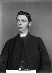 Revd John Jones, curate Llanfair Dyffryn Clwyd (?), 1879