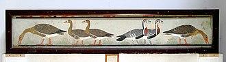 Nefermaat - Image: Ägyptisches Museum Kairo 2016 03 29 Gänse von Meidum 01