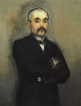 Georges Clemenceau - Portrait of Georges Clemenceau by Édouard Manet, c. 1879–80