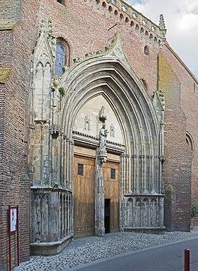 Église Notre-Dame de l'Assomption (Grenade) Portail.jpg