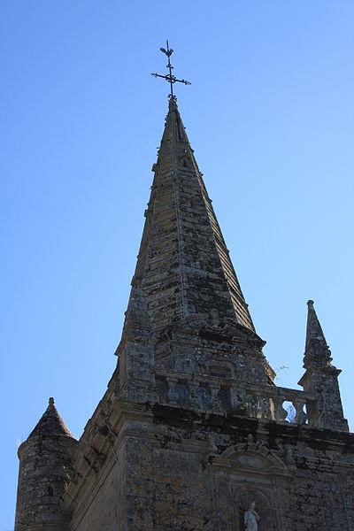 Église Sainte-Barbe (Moustoir-Ac): clocher