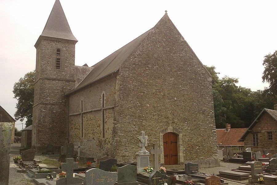 église Saint-Pierre de fr:Saint-Pierre-de-Semilly