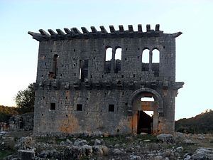 Üçayaklı ruins - Image: Üçayak Küstüllü ruins, Mersin Province