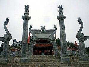 History of Vietnam - Lạc Long Quân's temple at Sim Hill (Phú Thọ).