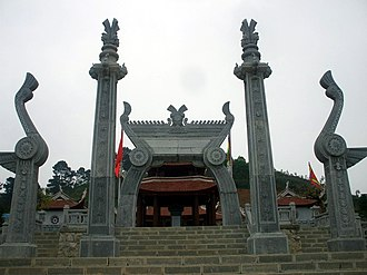 History of Vietnam - Lạc Long Quân's temple at Sim Hill (Phú Thọ).