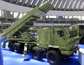 Šumadija (multiple rocket launcher) Type of Self-propelled multiple rocket launcher