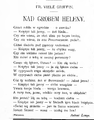 Życie. 1898, nr 02 (8 I) page06 Griffin-Nad grobem Heleny.png