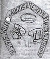 Žygimont Aŭgust, Pahonia-Kalumny. Жыгімонт Аўгуст, Пагоня-Калюмны (J. Radzivił, 1651).jpg
