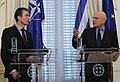 Συνάντηση ΥΠΕΞ Σ. Δήμα με τον Γ.Γ. του ΝΑΤΟ A.F. Rasmussen (6886625967).jpg