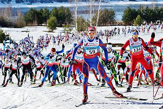 Cross-country skiing (sport) - Demino Ski Marathon, 2015