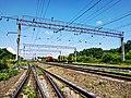Залізнична станція Богданівці, Хмельницька обл.jpg