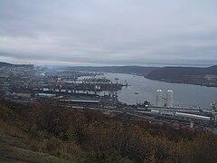 ムルマンスク港湾
