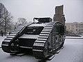 Памятник Гражданской войне 1918—1922 г. в Харькове, Британский танк Mk.V.jpg