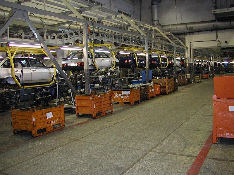 Сборка автомобилей конвейер купить транспортер т4 мультивен