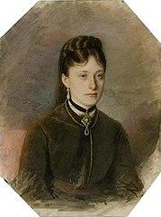 Portrait A.A. Bobrinskaya