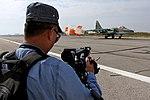 Работа журналистов на авиабазе «Хмеймим» в Сирии (7).jpg