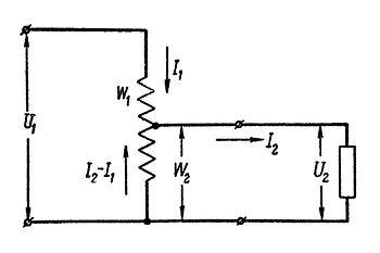 Автотрансформатор штиль схема