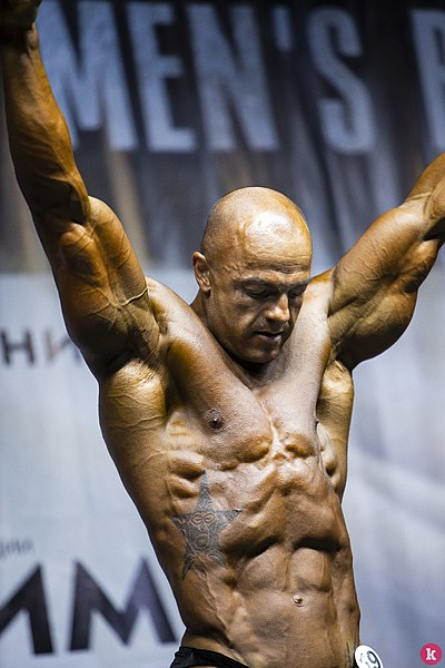 Сhampionship of the Kaliningrad area on bodybuilding 15.jpg