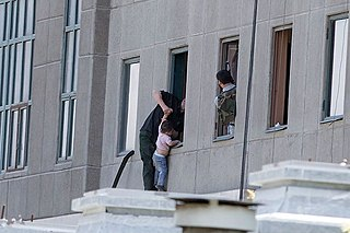 terrorist attack at Iranian Parliament