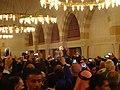 صلاة الجنازة على الشيخ حارث الضاري في مسجد الحسين بن طلال في حدائق الحسين بعمان 04.JPG