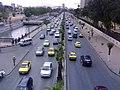 صورة للأوتستراد اسفل جسر الرئيس في دمشق.jpg