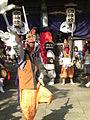 例大祭の三面獅子舞.JPG