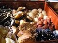 御節料理 豆、煮しめP1010430.jpg
