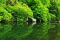 米内川の小さなダム A small dam of Yonai-gawa River - panoramio.jpg