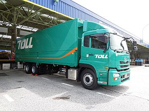 Toll Global Express - Toll Delivery Truck